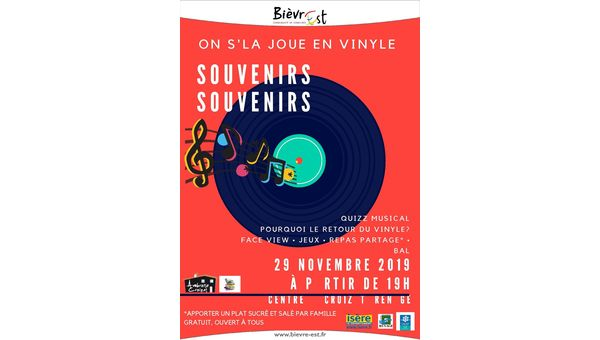 On s'la joue en vinyle - 29 novembre 2019 à Renage